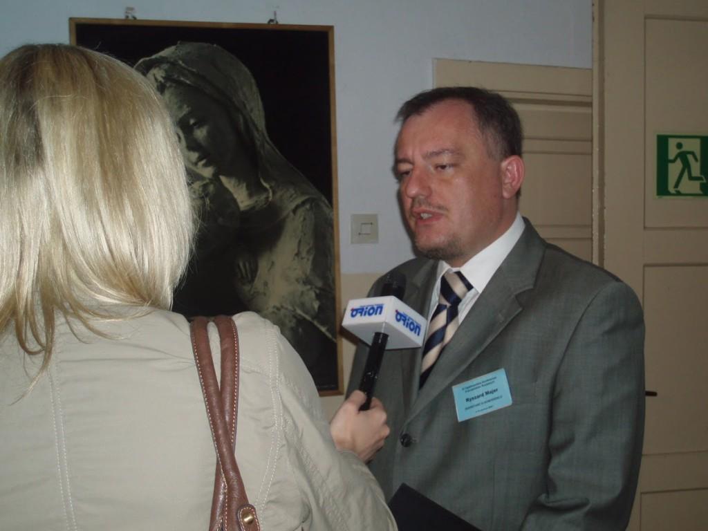 IX OKPS, wywiadu udziela Ryszard Majer