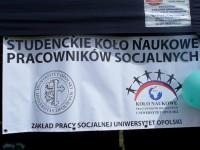 logo studenckiego koła naukowego pracowników socjalnych na uniwersytecie opolskim