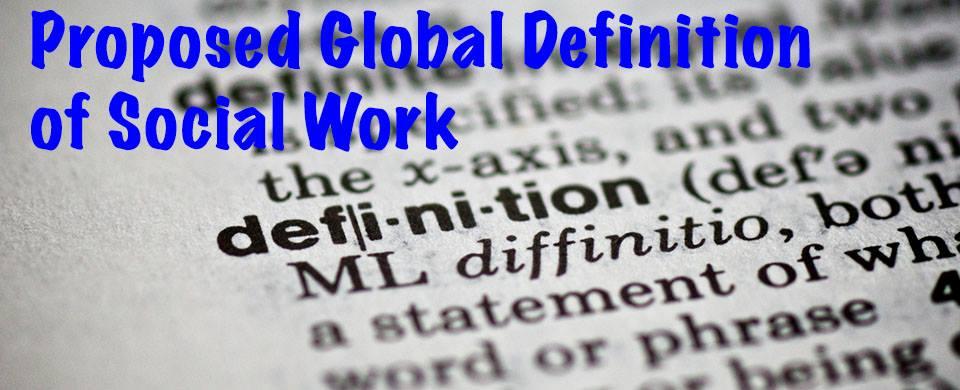 definicja pracy socjalnej