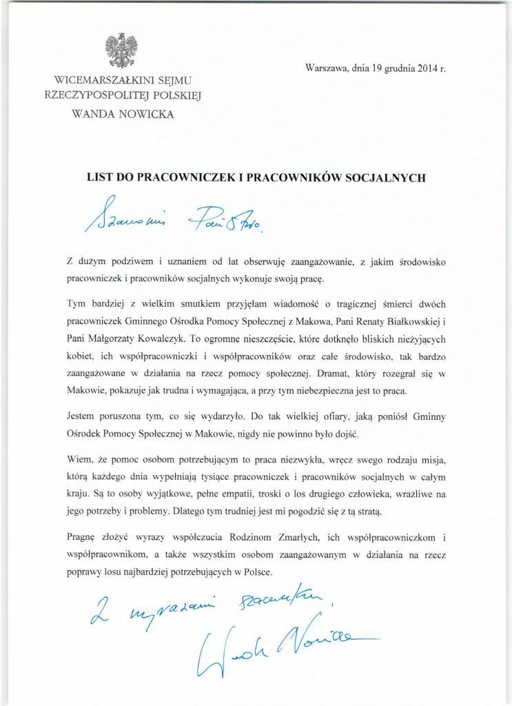 List kondolencyjny do pracownikow socjalnych 19 12 20140001